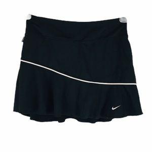Nike Dri Fit Black Tennis Skort Mini Skirt S